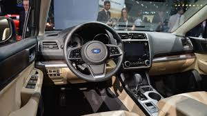 subaru outback 2017 interior subaru of america announces pricing on refreshed 2018 legacy and