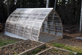 Inside Greenhouse Ideas by Hoop Quonset Hut Type Building For Temporary Living Structure