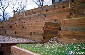 Timber Retaining Walls Wheeler - Timber retaining wall design