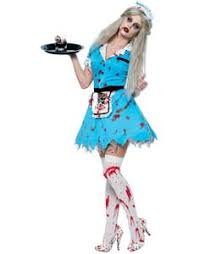 Halloween Bloody Mary Costume Zombie Costume Ghoulishly Price Zombie