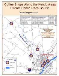Garden State Plaza Map by Kenduskeag Stream Canoe Race Stream Maps