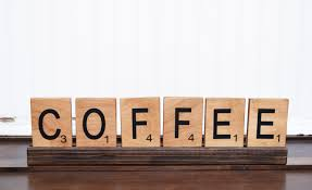 rustic wood coffee sign coffee bar scrabble letters large