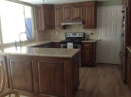 kitchen cabinet ends medium color birch kitchen cabinet raised panel doors and drawers