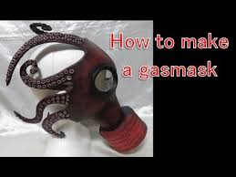 Gas Mask Halloween Costume Gas Mask Octopus Halloween