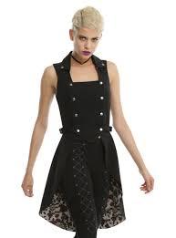 spirit halloween black cape women u0027s steampunk jackets for sale