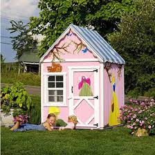 Wooden Backyard Playhouse The Sugar And Spice 4 U0027 X 4 U0027 Wooden Playhouse