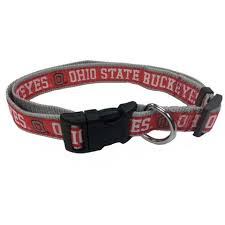 ohio state ribbon ohio state buckeyes dog collars leashes id tags jerseys more
