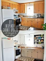 kitchen cabinet upgrade how to upgrade kitchen cabinets updated old cabinets updating