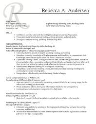 Training Section On Resume Personal Trainer Resume Template Flight Attendant Cover Letter
