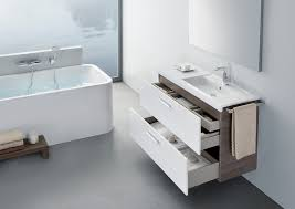 Roca Bathroom Vanity Units Unik Base Unit With One Drawer And Right Hand Basin Vanity