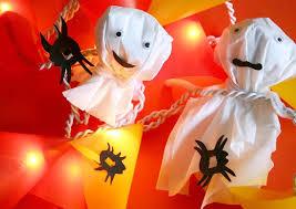 halloween lichterketten basteln geolino