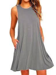 sleeveless dress casual a line crew neck sleeveless solid dress popjulia
