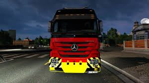 mercedes benz actros mp4 red benz actros 4160 slt 8x4 titan for euro truck simulator 2