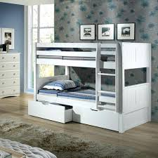 Bunk Bed Headboard Low Ceiling Loft Bed Low Bunk Bed With Drawers And Panel Headboard
