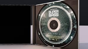 super bass flyer cd dvd psd template on behance