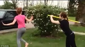 Shovel Meme - both girls in shovel fight video are arrested for disorderly
