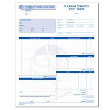 Free Service Invoice Templates by Cleaning And Janitorial Invoice Forms Designsnprint