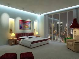 Small Bedroom Ceiling Lighting Bedroom Queen Size White Modern Stained Solid Wood Panel Bed Red