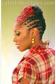 latest dread dread updo with red updo ideas pinterest dreads updo and locs