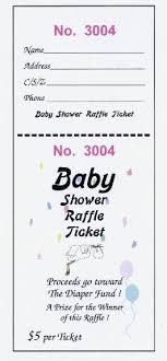 baby shower raffle ticketsmade by el paso world baby shower raffle tickets