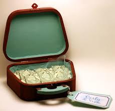 Money Wedding Gift Creative Cash U2013 A Suitcase Full Of Money Kristin Smith Creative