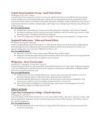 editor resume editing resume