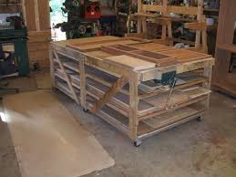 Rolling Wood Storage Rack Plans by 90 Best Lumber Storage Images On Pinterest Garage Storage