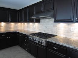 modern cheap home interior remodel black kitchen cabinet design
