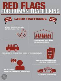 Red Flags Human Trafficking Red Flags For Labor Trafficking