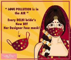 What Is Air Meme - delhi brides air pollution fun meme bridal fashion