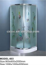 china high quality pivot portable shower door suppliers and