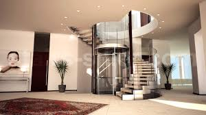 helical staircase wooden steps metal frame without risers