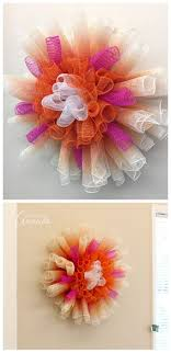 deco paper mesh deco mesh flowers how to make several varieties