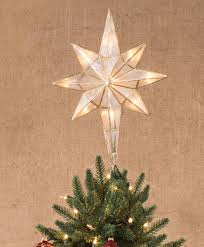 lighted tree topper bethlehem tree topper tree classics