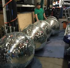 disco rental disco balls 3ft los angeles partyworks inc equipment