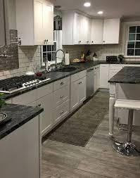 black granite countertops white kitchen cabinets 22 granite countertops ideas kitchen remodel kitchen