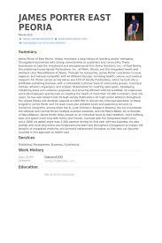 Sample Resume Waiter by Owner Ceo Resume Samples Visualcv Resume Samples Database