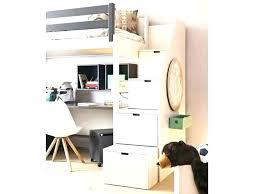lit superpose bureau lit mezzanine escalier bureau lit superpose avec rangement lit