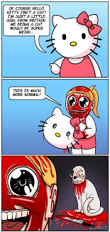 Hello Kitty Meme - the truth about hello kitty dorkly post
