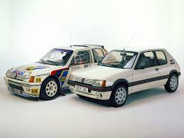 Peugeot 205 T16 E1 E2 Homologation Version Rally Group B Shrine
