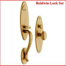 Baldwin Exterior Door Hardware Baldwin Entry Door Lock Springfield 6573 How To Remove