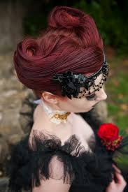 goth bride for halloween weddings
