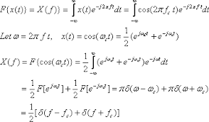 Fourier Transform Table Fourier Transforms And Analysis 1 Of 3