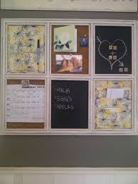 my yellow brick home blog our kitchen message board crafts