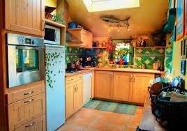 cuisine coloree aménagement décoration cuisine colorée