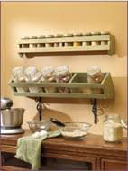 Wooden Spice Rack Wall Spice Racks At Woodworkersworkshop Com