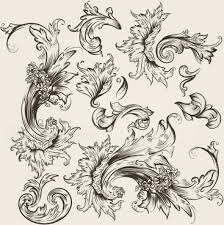 swirl ornament free vector 11 596 free vector for
