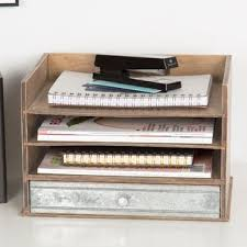 File Desk Organizer Desktop File Organizers You Ll Wayfair