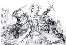 black panther u0026 batman vs wolverine u0026 deathstroke battles