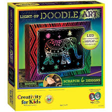 creativity for kids light up doodle art craft kits